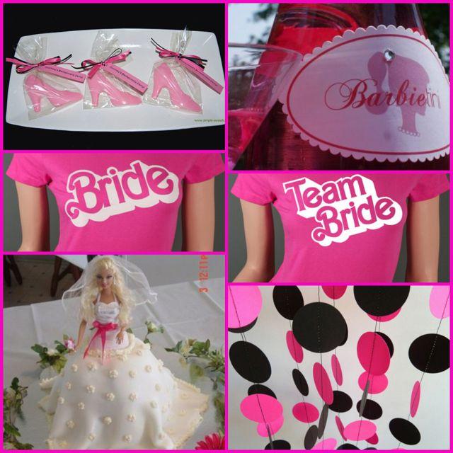 73ee0c9b6f3 Barbie bridal shower