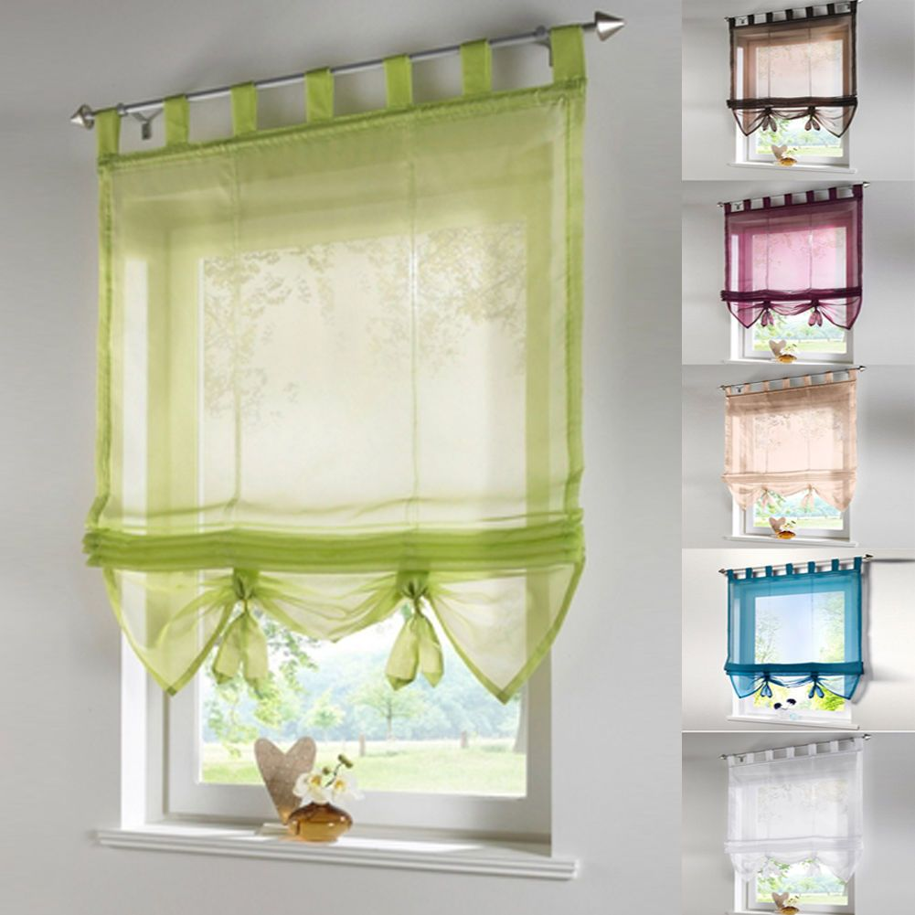 gbp voile sheer curtains roller curtain balcony tulle window