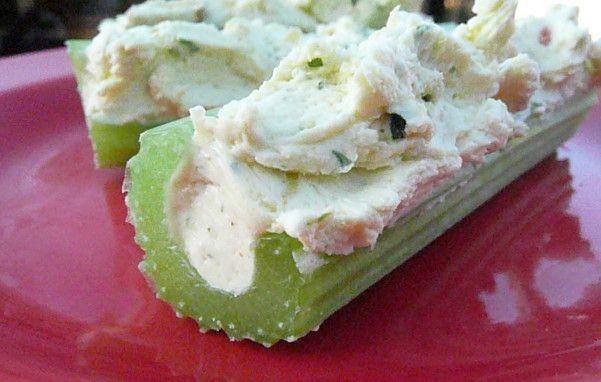 Cream Cheese-Stuffed Celery