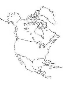 blank outline map of north america - Yahoo Canada Image ...