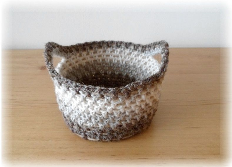 Crocheting Rope : crochet basket with rope I made this! - QS crochet Pinterest
