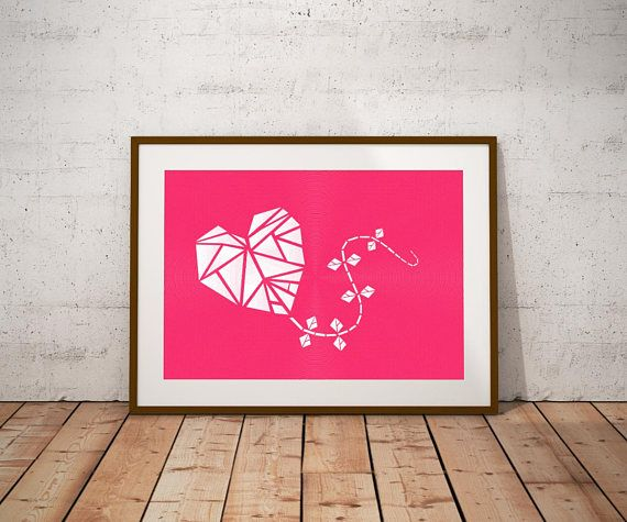 #valentinesday #pink  #Kite #minimalistdesign  #large  #wallartprints  #valentinesdaygift #homedecor #artoftheday #art #gifts #giftideas #giftsforher #wedding #anniversarygift #weddingtheme #heart #graphicart