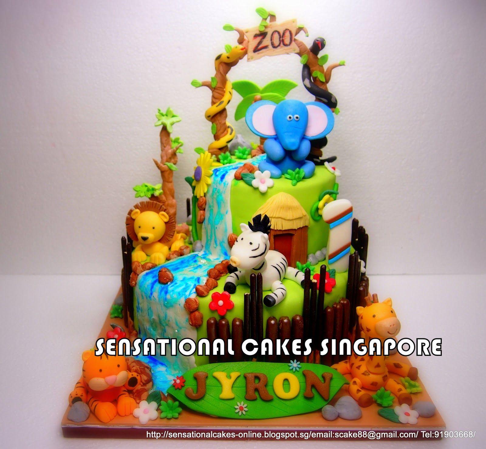 Cool Rainbow Ombre Cake W Royal Pearl Swirls For 1St Month Celebration Funny Birthday Cards Online Amentibdeldamsfinfo