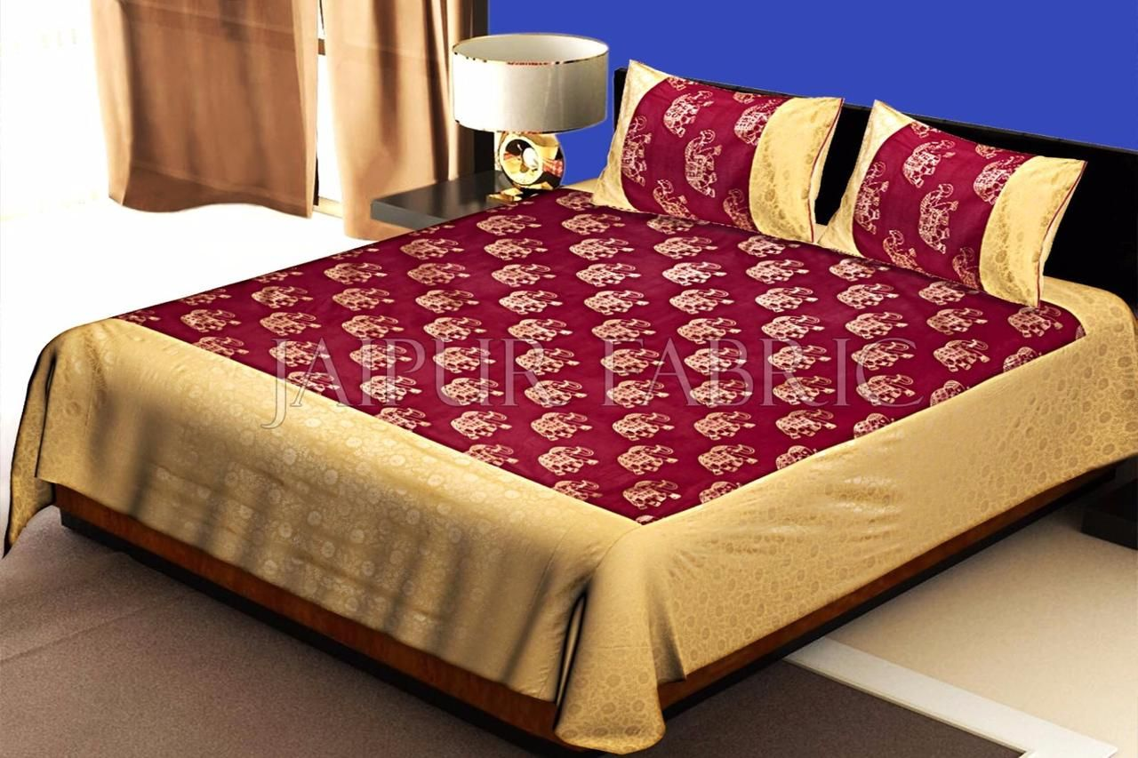 Double Size Bed Sheets Wholesale Price In India In 2020
