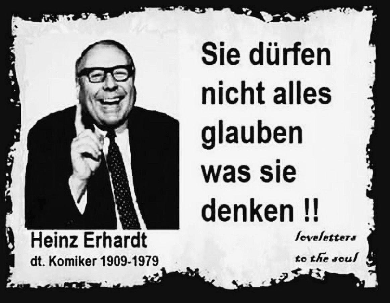 Benedictinosvenezuela Spruche Ruhestand Heinz Erhardt