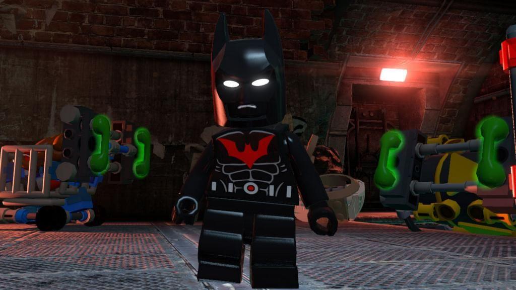 Lego Batman beyond in Batman of the Future DLC pack!   Hmmm ...