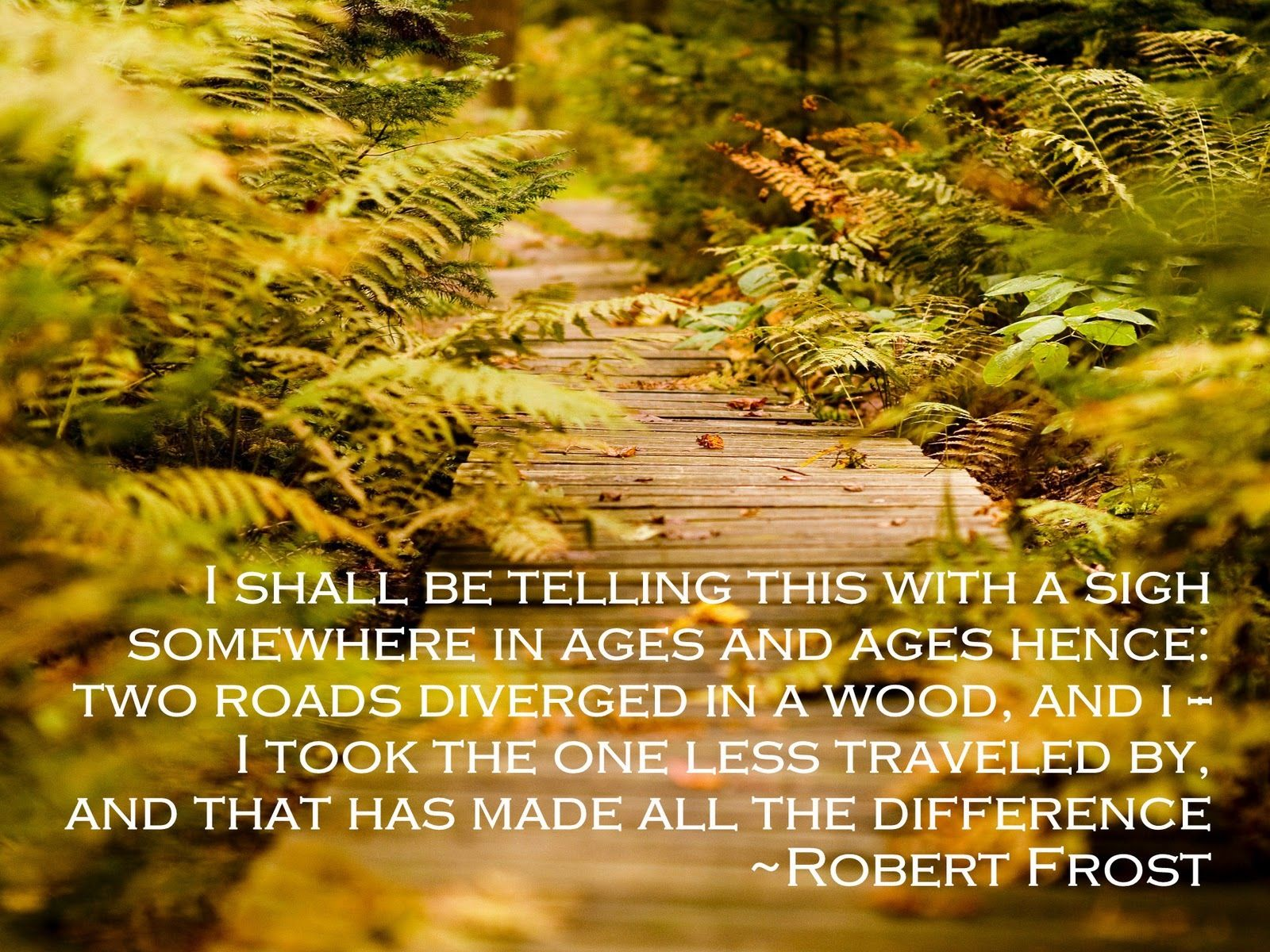 Robert frost thesis statement about nature