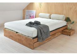 d456f9e33d60 Oak platform storage bed also leaning ladder mini dressing table new home  ideas pinterest rh