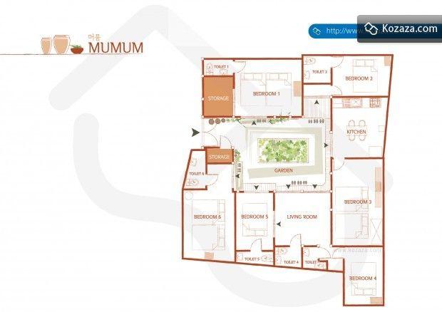 Hanok Floor Plan 2 Sims House Plans House Plans And More Floor Plans Korean traditional house plan