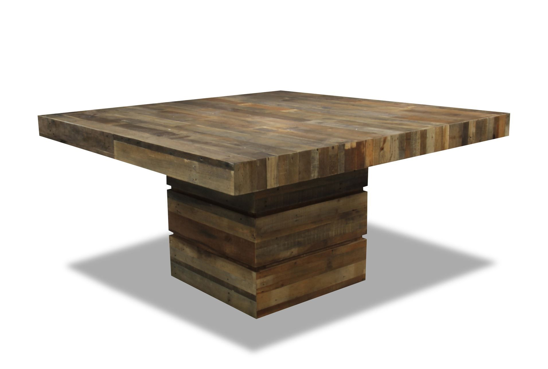 Tahoe Ii 58 Inch Square Dining Table With Images Square Dining