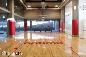 Optima Sonoran Rentals Showing Hte Indoor Basketball Court Love The Logo In The Court Indoor Basketball Court Indoor Basketball Basketball