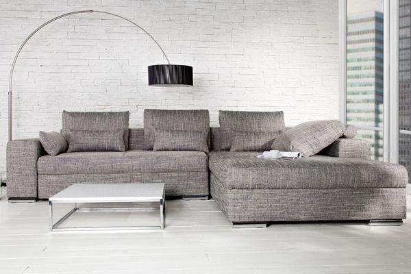 Das moderne Design Ecksofa u201eVINCENZAu201c ist ein Sofa für gemütliche - gemtliche ecksofas