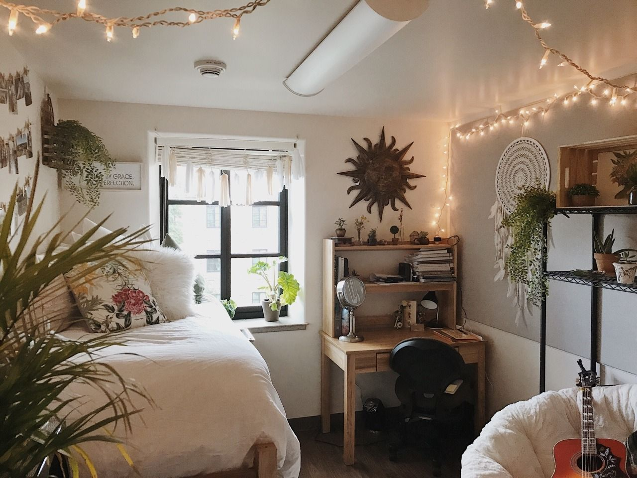 "plaht: ""finally finished my college dorm room "" | dorm room inspiration, dorm room decor"