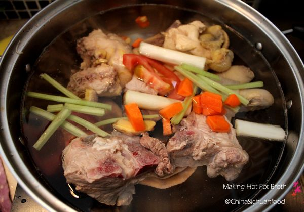 Chinese Hot Pot Broth Recipe - Non-Spicy and Sichuan style broths