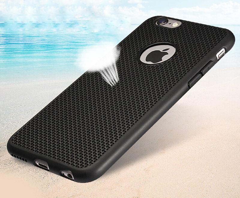 """Per i6/6 Plus caso! Griglia di lusso Radiante Tpu casse del telefono per il iphone 6 4.7 """"6 Più 5.5"""" Accessori del telefono con finestra logo"""