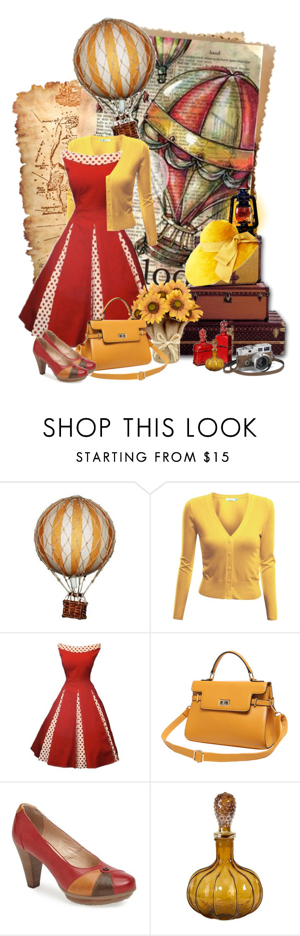 """Go to the Sky"" by sagramora ❤ liked on Polyvore featuring Doublju, Blondo and Hermès"