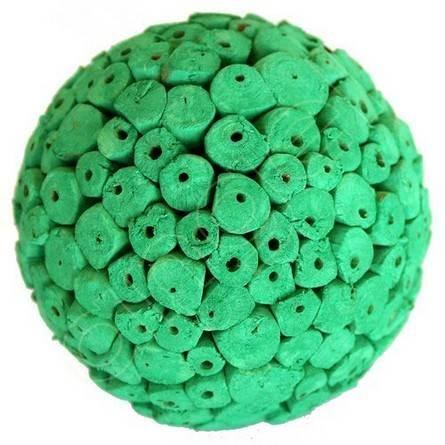 Green Decorative Balls Emerald Large Decorative Ballsangel Aromatics I Available At
