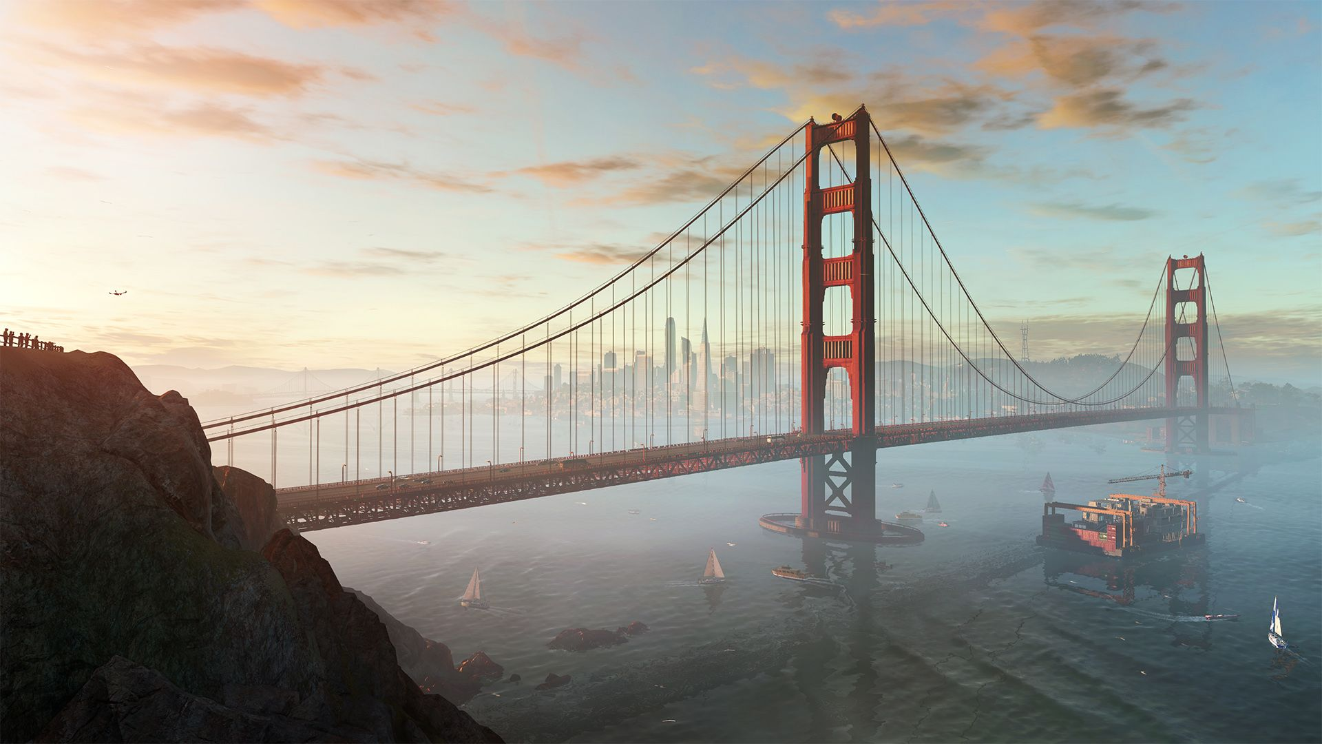 Watch Dogs 2 review Video games, Golden gate bridge, Image