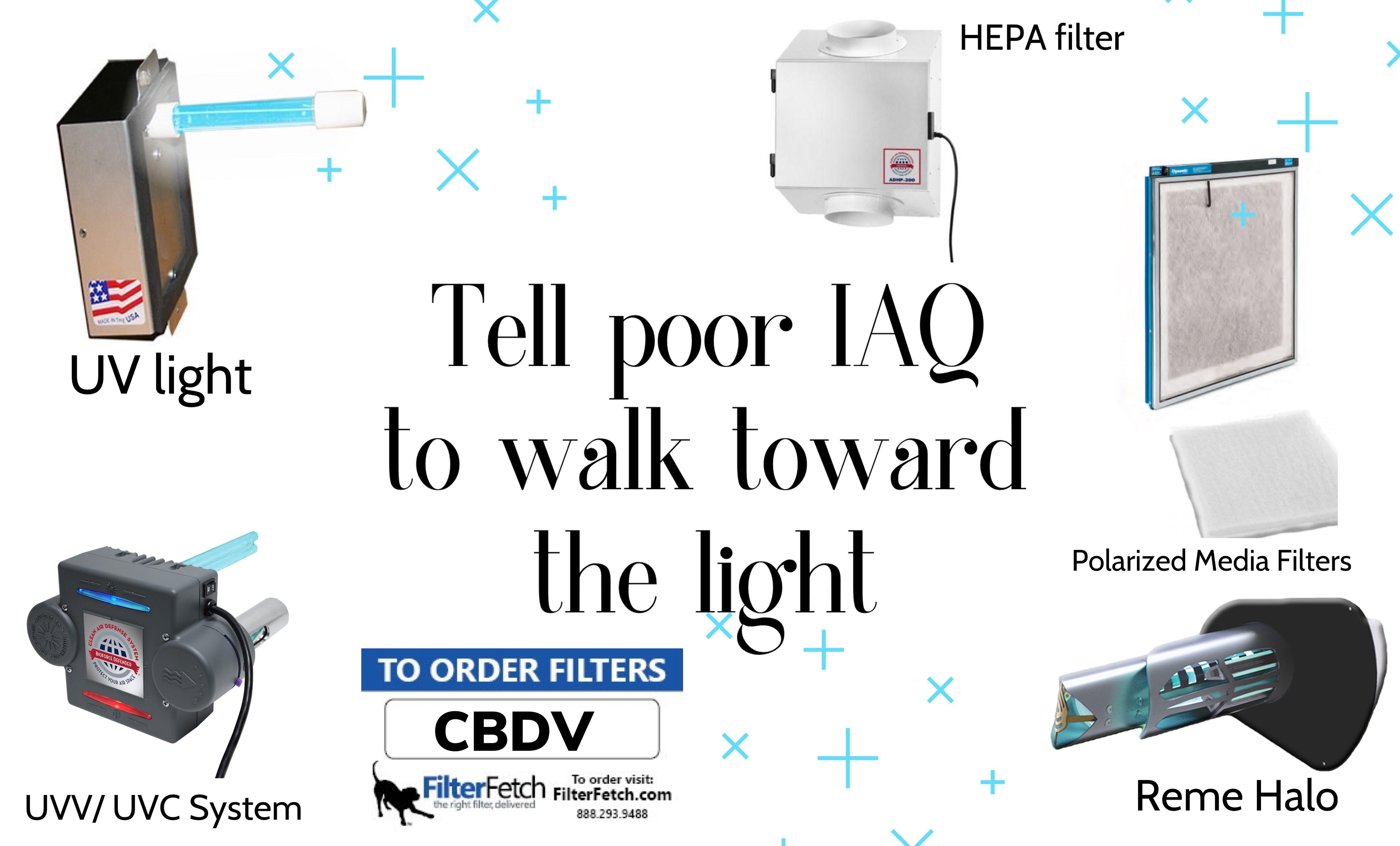 Tell poor IAQ to walk toward the light in 2020 Iaq, Pet
