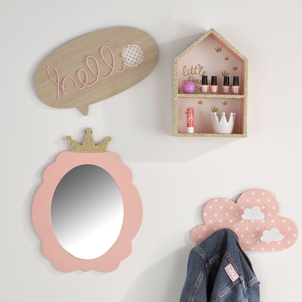 Kinder Wandspiegel Rosa Tedi Shop Wandspiegel Rosa Kinder