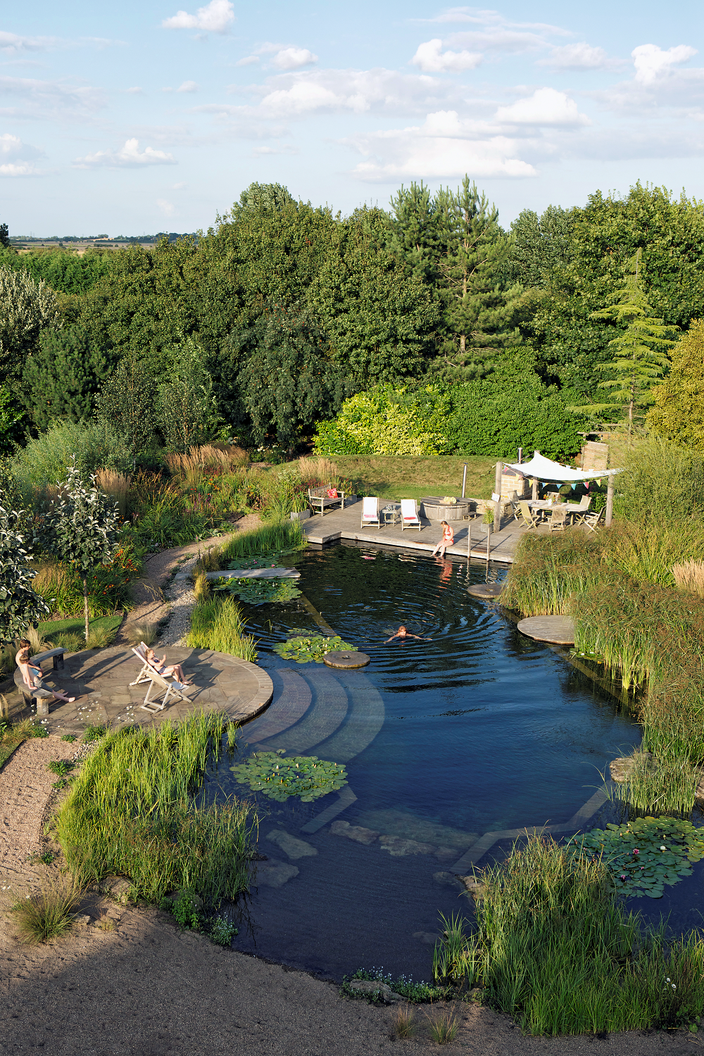 Have An Area That Can Only Be Reached By Crossing Water Natural Swimming Ponds Natural Pool Natural Swimming Pool