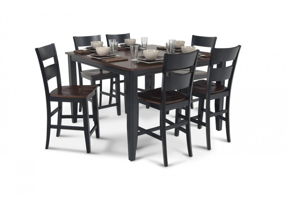 Blake pub 7 piece dining set dining room sets dining for 7 piece dining room sets cheap