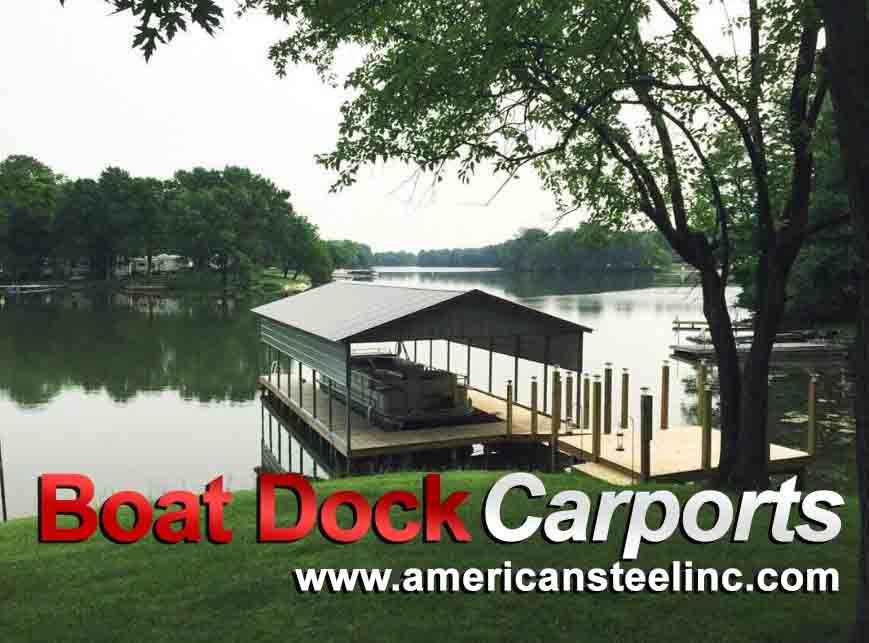 Boat Dock Carport Installation | American Steel Carports | Blogs ...