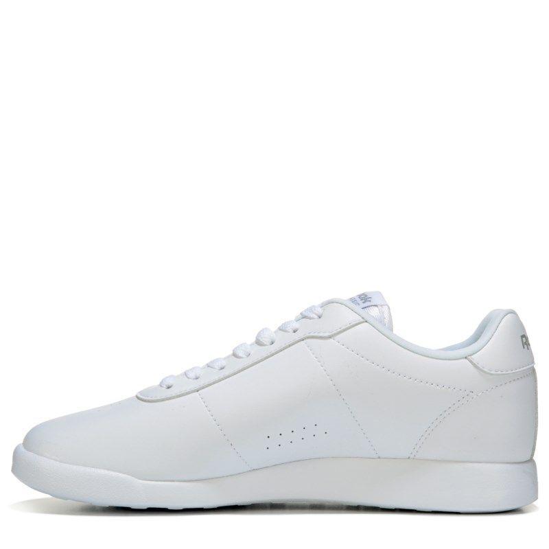 32952fe44b6c29 Reebok Women s Princess Lite Memory Foam Wide Sneakers (White) - 11.0 D
