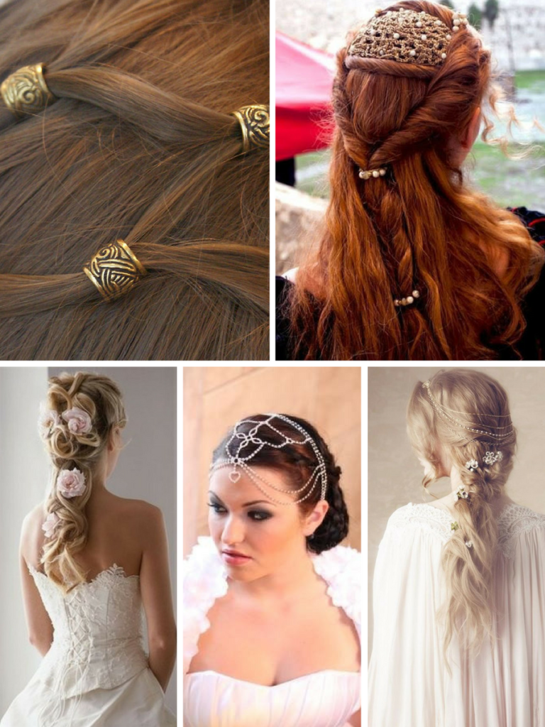 celtic inspired hairstyles | fashion & wedding | celtic hair
