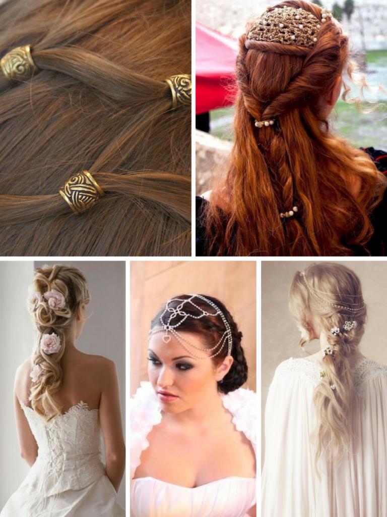 celtic inspired hairstyles | fashion & wedding | wedding