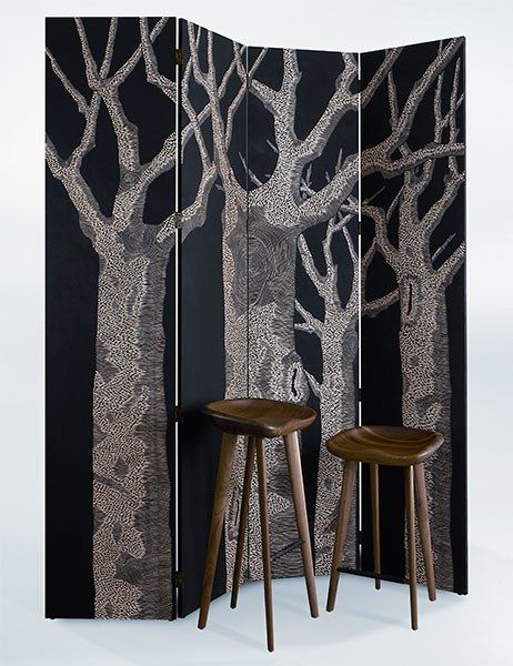 Meet More Than 60 Up-and-Coming Artisans - Zoé Ouvrier's folding screens infuse any space with a sense of serenity.