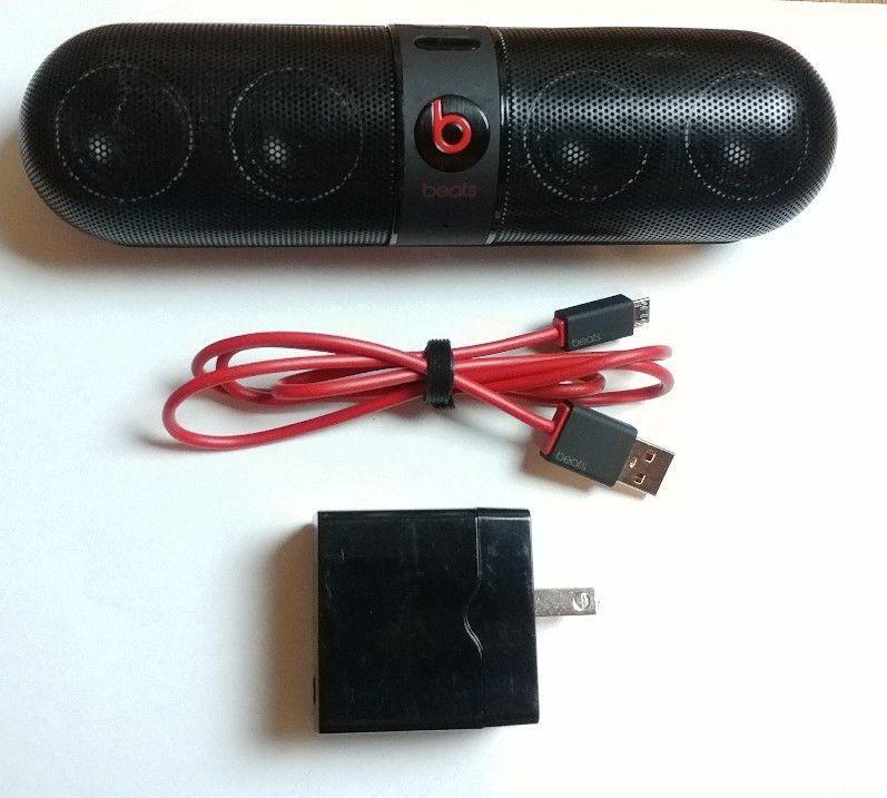 Autentic Original Beats Pill By Dr Dre Bluetooth Wireless Speaker Black Wireless Speaker Black Bluetooth Pil Wireless Speakers Bluetooth Beats Pill Dr Dre