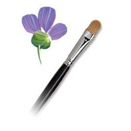 Langnickel Combo Filbert Brush Artist Paint Brush L30208 3 Pack You Can Get More Details By Cli Paint Brushes Painting Flowers Tutorial Brush Stroke Art