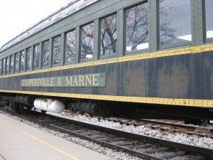 have you experienced the christmas magic of santas train in coopersville michigan mittenlove