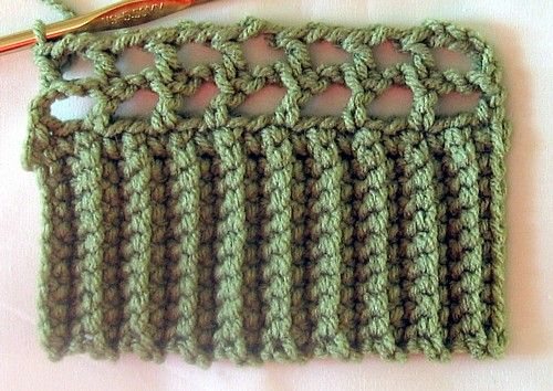 Crochet Sweater Ribbing Moss Tutorial 4u Hilariafina Httpwww