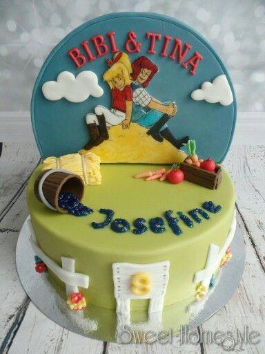 Bibi Und Tina Torte Bibi Blocksberg Cake Bibi Und Tina Torte Torte Kindergeburtstag Kuchen Einschulung