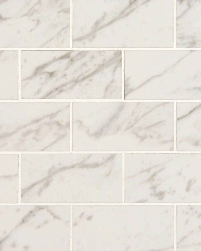 Pietra Carrara Subway Tile Is An Exquisite Marble Look White