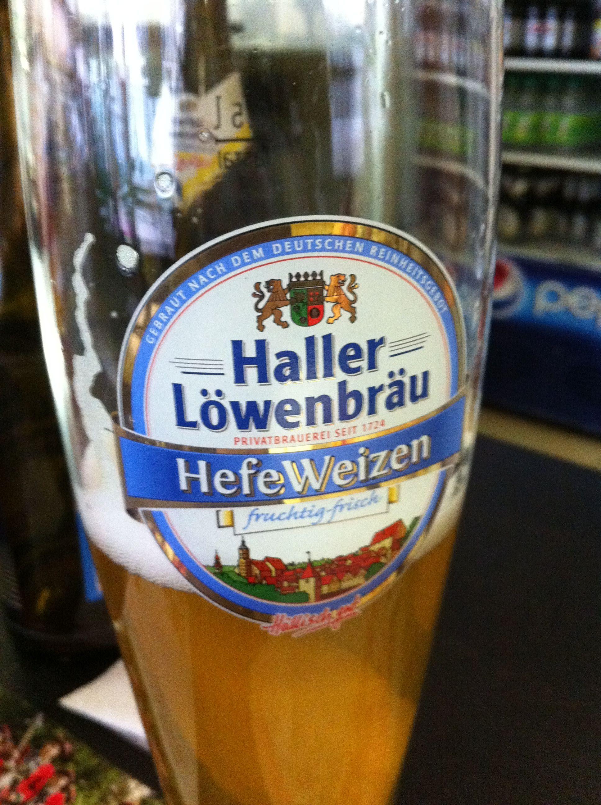Haller Löwenbräu Weizen