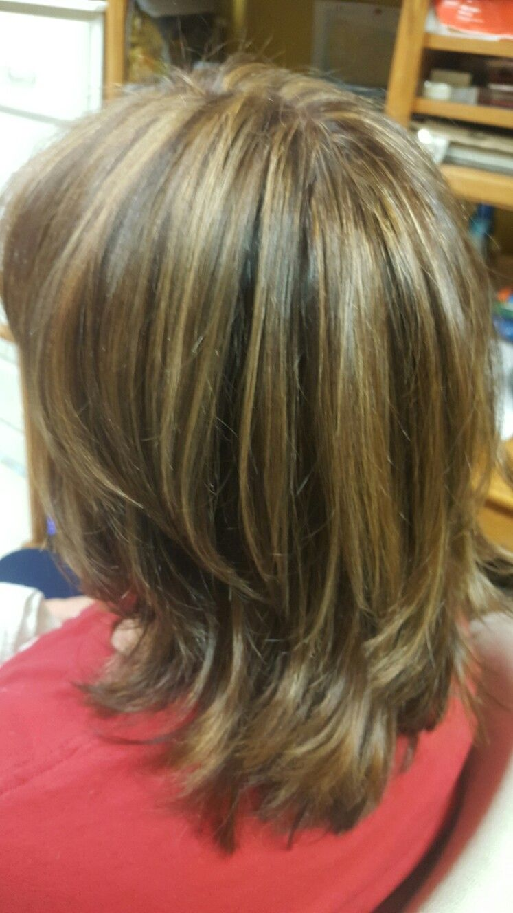 Red brown base caramel highlights my work pinterest