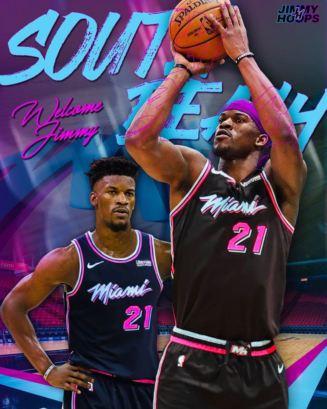 Jimmy Butler Fanpage On Instagram Welcome To South Beach Jimmy It S My First Butler Ed Best Nba Players Lebron James Miami Heat Miami Heat Basketball