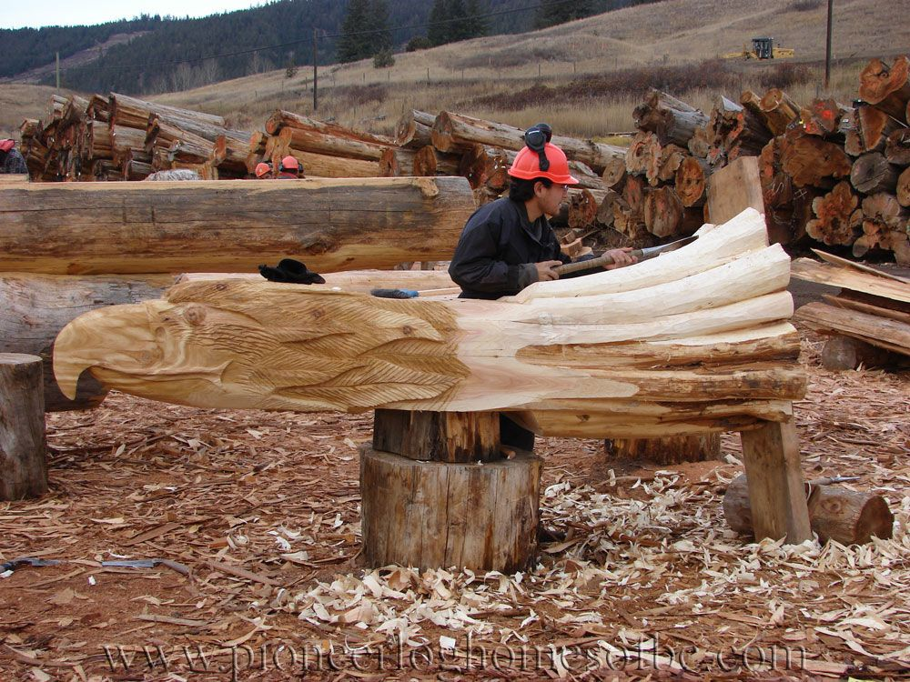 Carving Bird Eagle A Wood Carving Carver Kings Pinterest Log Homes Wood And Cabin