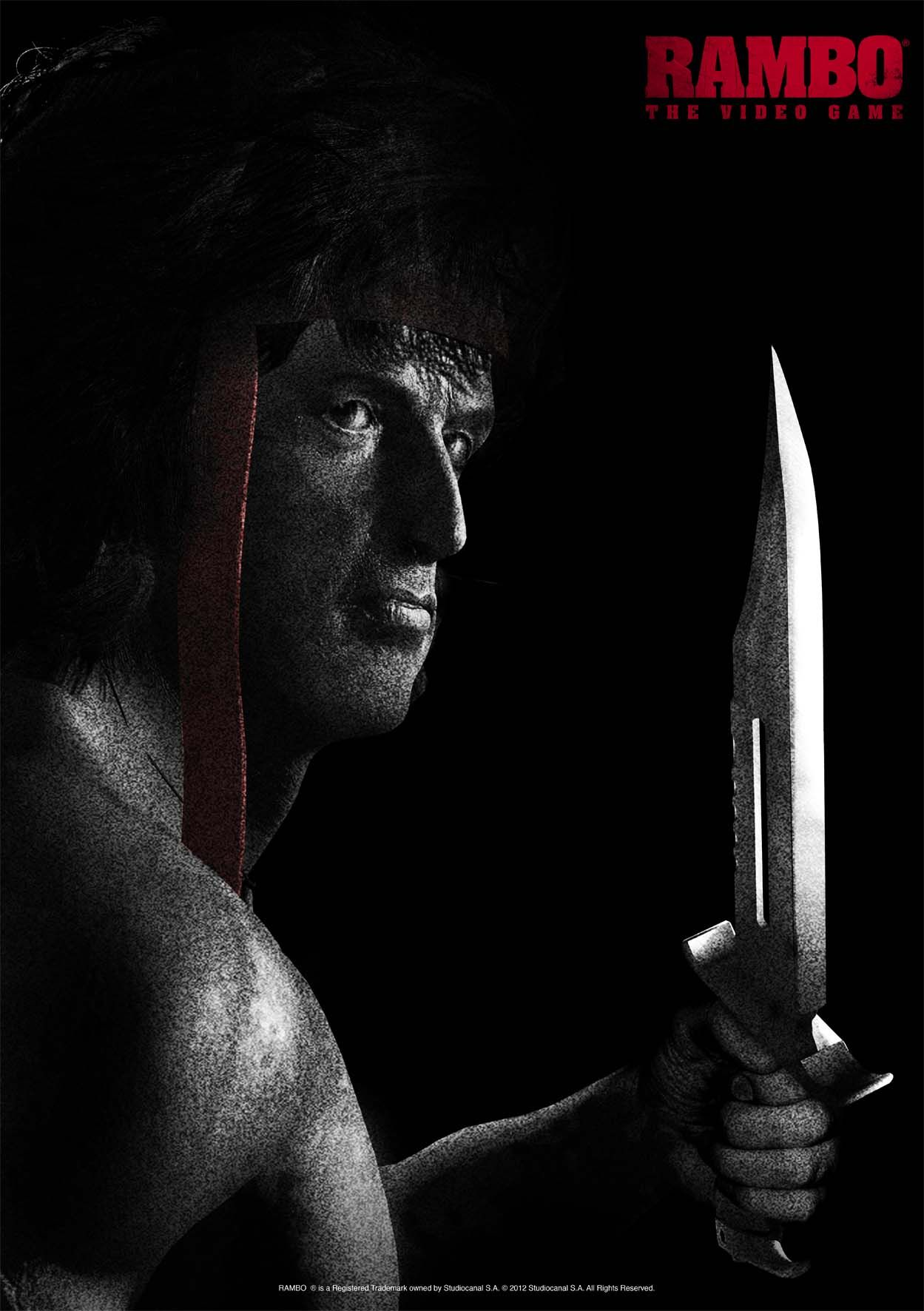Key Art 2 for RAMBO ® THE VIDEO GAME