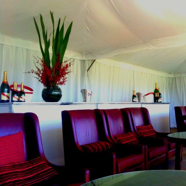 Polo Marquee Melbourne  Microhire Creative Design InterContinental Hotel Melbourne