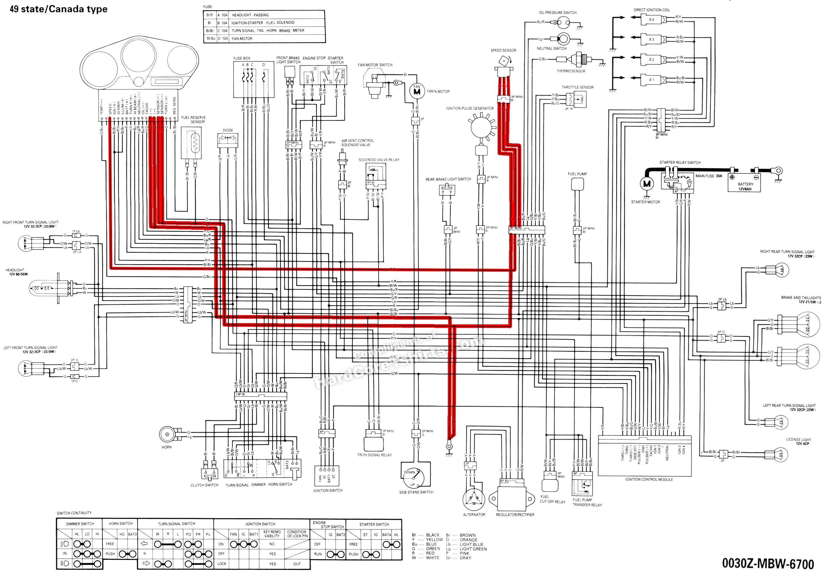 Cbr 600 F4 Wiring Diagram To D How Do I