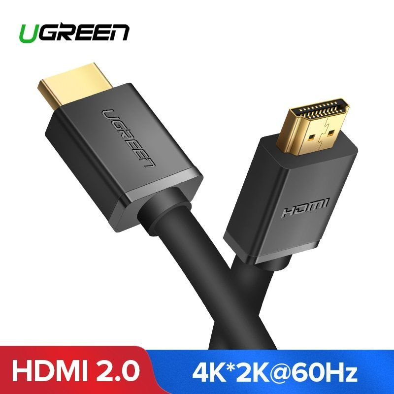 Ugreen Hdmi Cable 4k Hdmi 2 0 Cable For Iptv Lcd Hdmi Xbox 360 Ps3 4 Pro Set Top Box Nintend Switch Projector Cable Hdmi 5m 10m Hdmi Cables Hdmi Video Cable