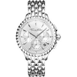 Photo of Thomas Sabo Damenuhr Rebel At Heart Women Chronograph Silber 201 Thomas Sabo