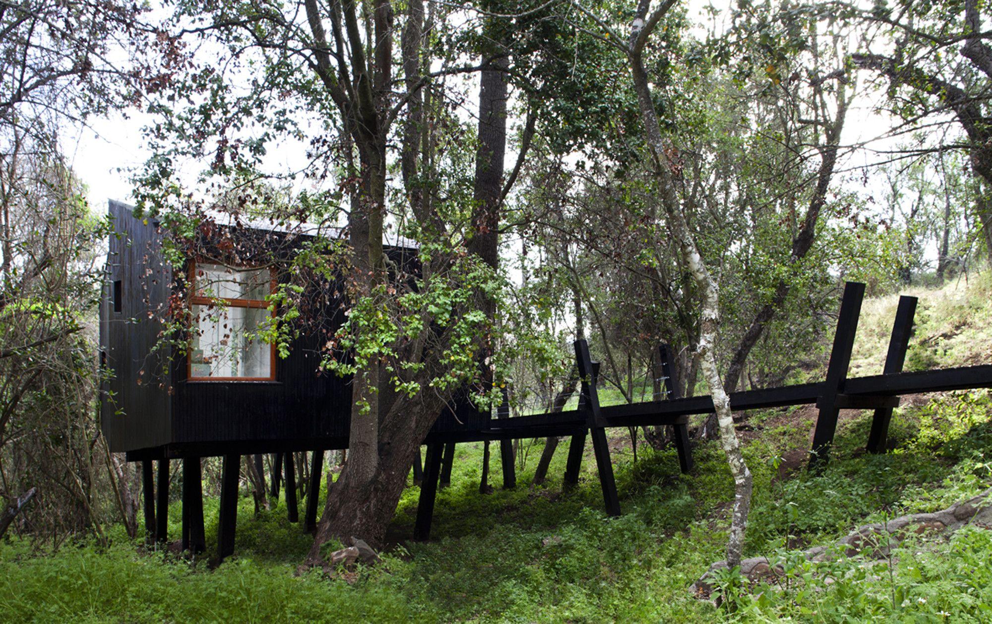 Construire Pres D Un Ruisseau quebrada house / unarquitectura | maison bois, maison de