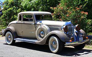Grey Vintage Car Chinese Car Car Insurance Classic Car Show