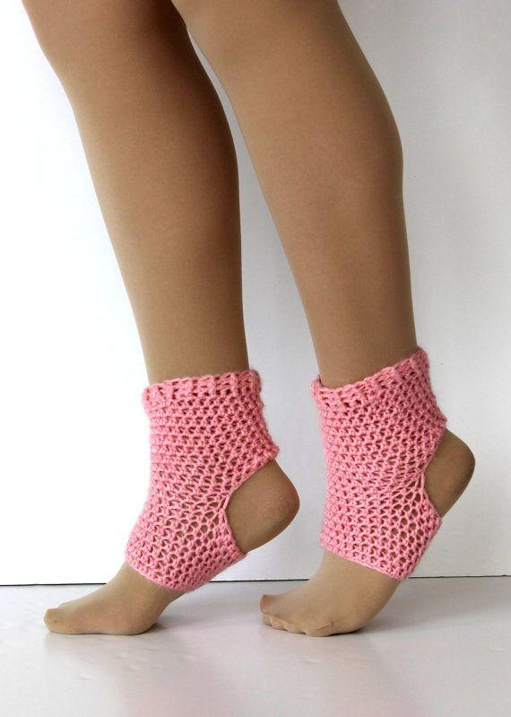 Yoga sock pattern, DIY, PDF crochet yoga sock pattern, Dance socks ...