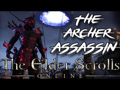THE ARCHER ASSASSIN - Stamina Nightblade PvE Build in ESO